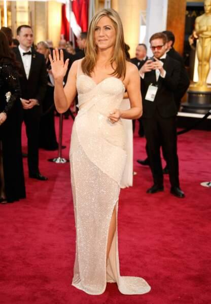 Jennifer Aniston en Atelier Versace