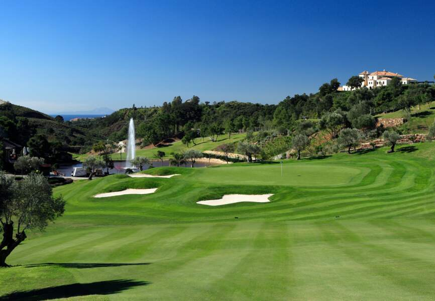 Le parcours de golf du Marbella Club. David Beckham y a déjà frappé la balle.