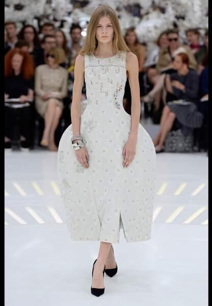 La bourgeoise XVIIIe revisitée par Dior