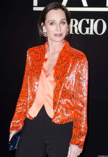 L'actrice française Kristin Scott Thomas