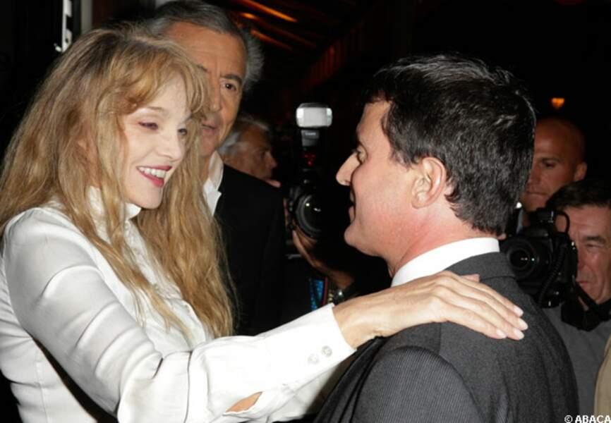 Arielle Dombasle et Manuel Valls