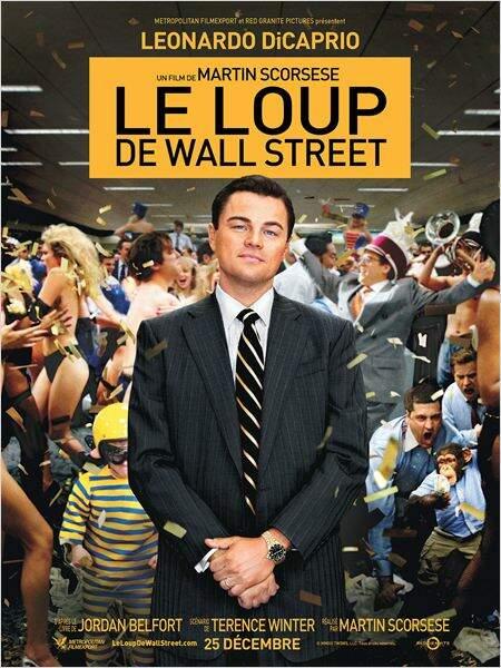 Le loup de Wall Street de Martin Scorcese en 2013