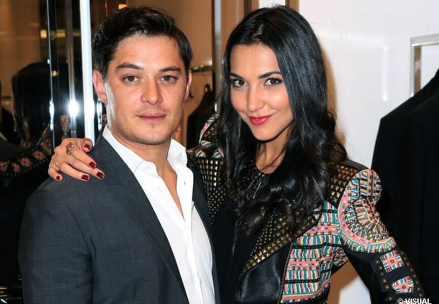 Aurélien Wiik et Aurélie Montea chez Dior