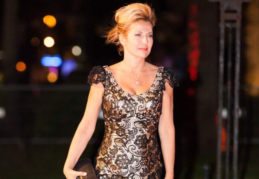 Natacha Amal lors de l'after party du film Grace de Monaco