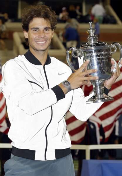 Rafael Nadal vainqueur de l'US Open
