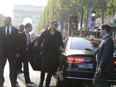 Brad Pitt et Angelina Jolie à Paris