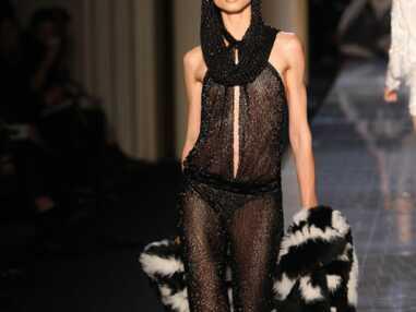 Lady Gaga chez Donatella Versace