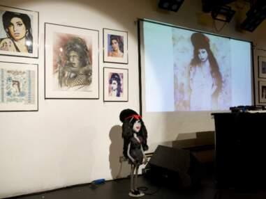 Exposition en l'honneur de l'anniversaire posthume d'Amy Winehouse à Londres