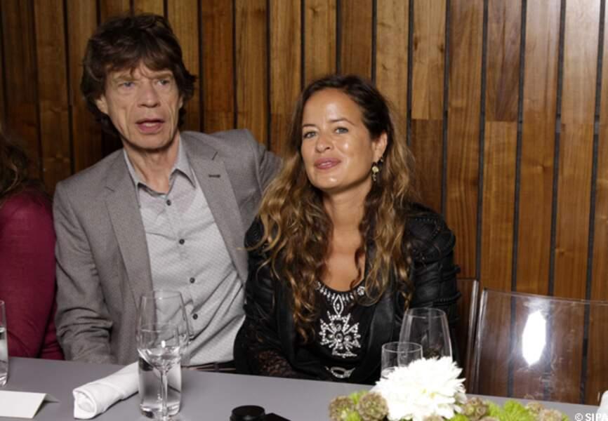 Mick Jagger et sa fille Jade