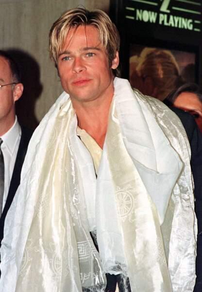 Brad Pitt à la première de Sept ans au Tibet en 1997