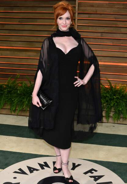 Christina Hendricks superchic en mars 2014