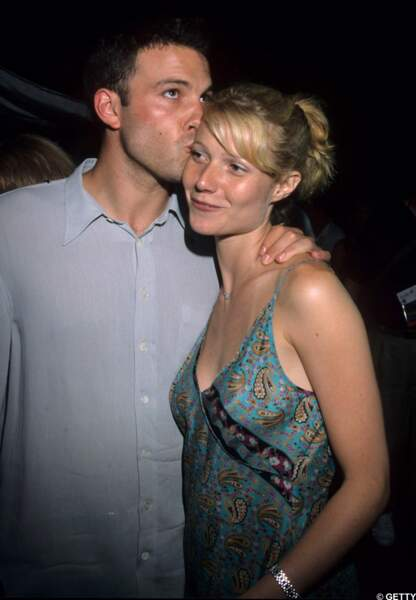 Avec Ben Affleck, d'abord un partenaire à l'écran. 1998