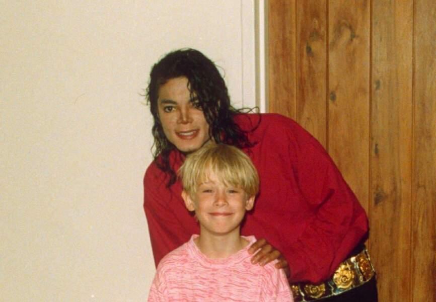 Macaulay Culkin parrain de Prince Michael et Paris Jackson