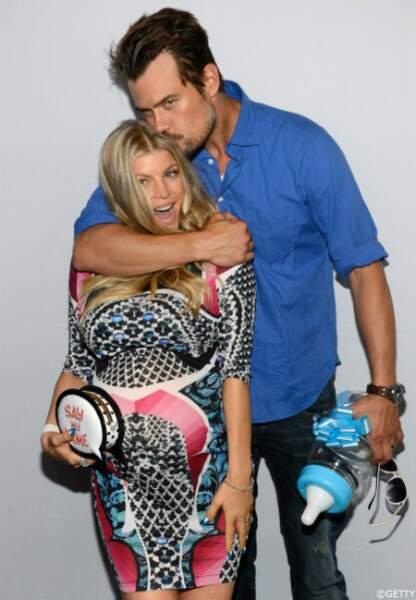 Josh Duhamel et Fergie ont organisé une «gayby», baby shower gay, pour leur fils