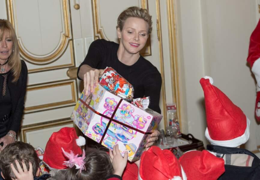 La princesse de Monaco prend son rôle très à coeur