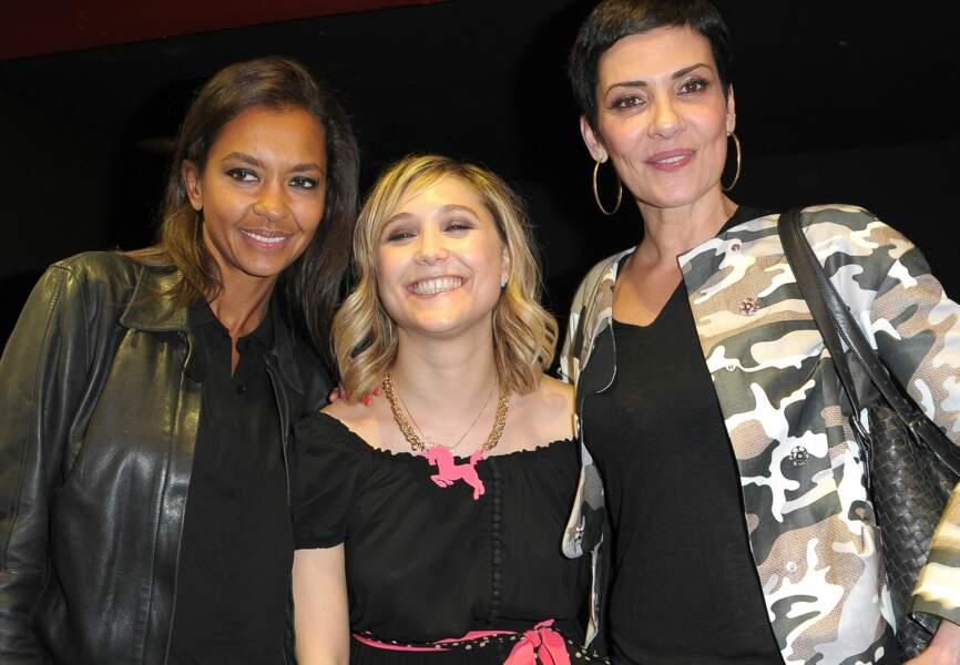 Karine Lemarchand, Bérangère Krief et Cristina Cordula