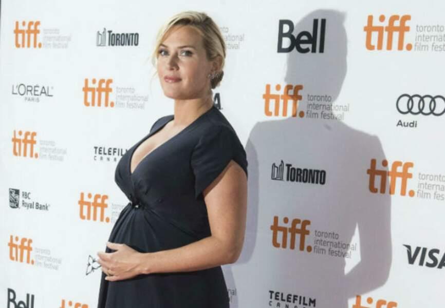 Décembre: Kate Winslet trouve un surprenant prénom à son nouveau né: Bear