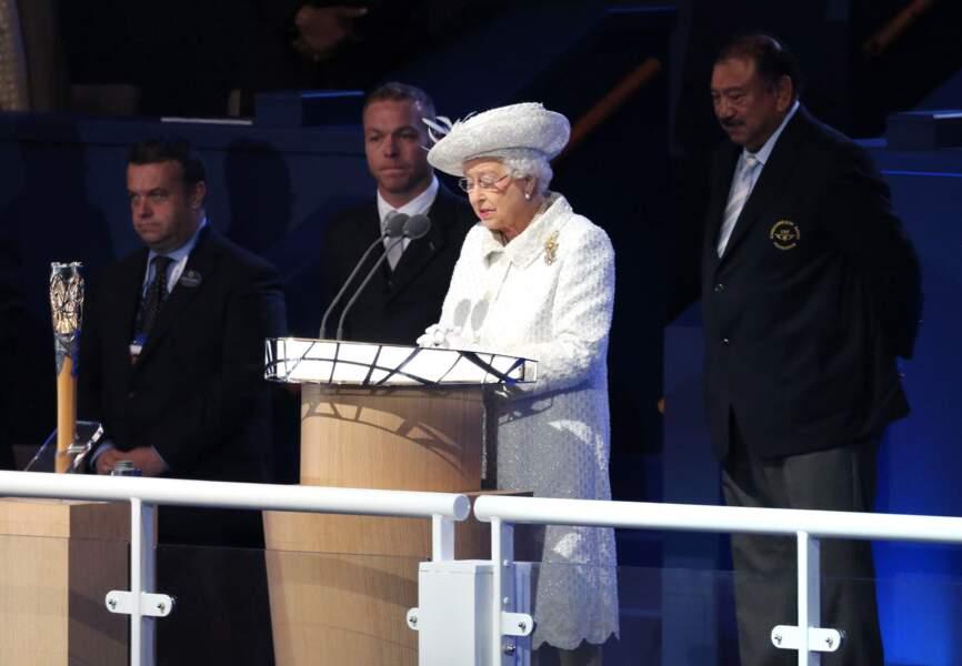 Discours d'Elisabeth II à la cérémonie d'ouverture des Commonwealth Games
