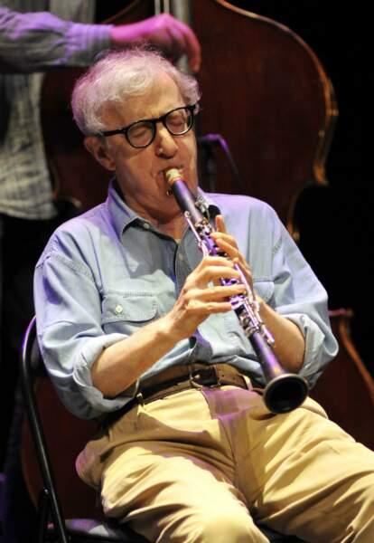 Woody Allen à la clarinette