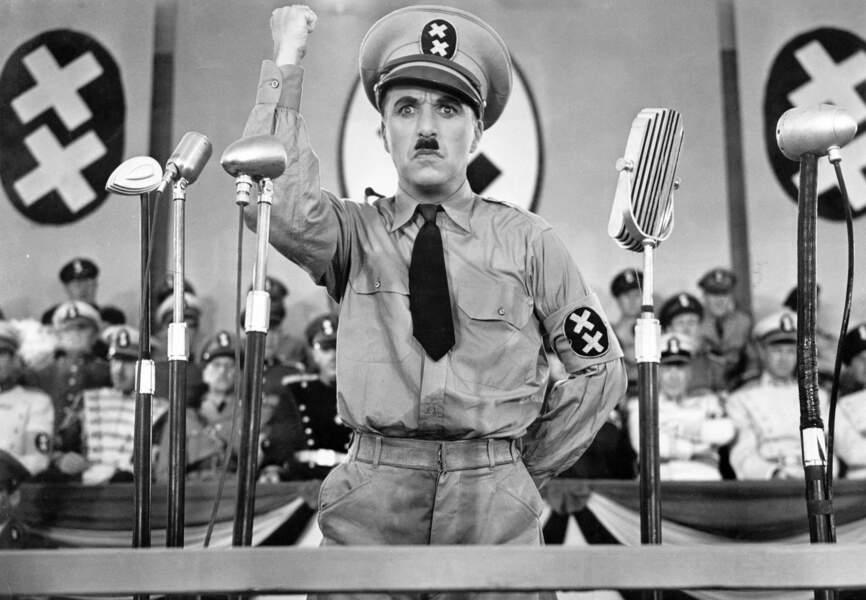 Charlot Le Dictateur 1940