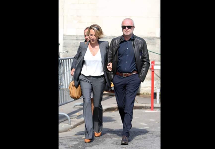 Olivier Baroux et sa femme