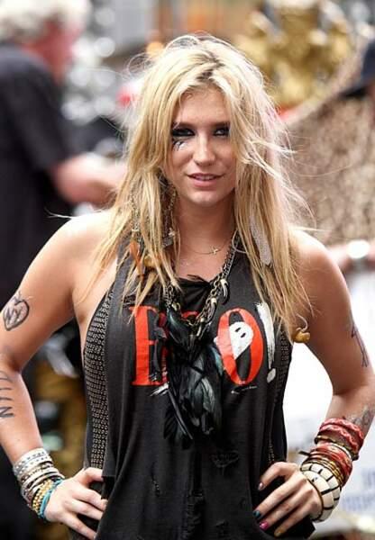 Vernis chamarré pour Kesha