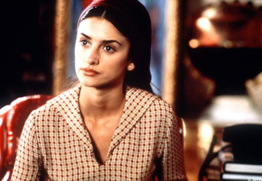 Penélope Cruz dans Tout sur ma mère, en 1999