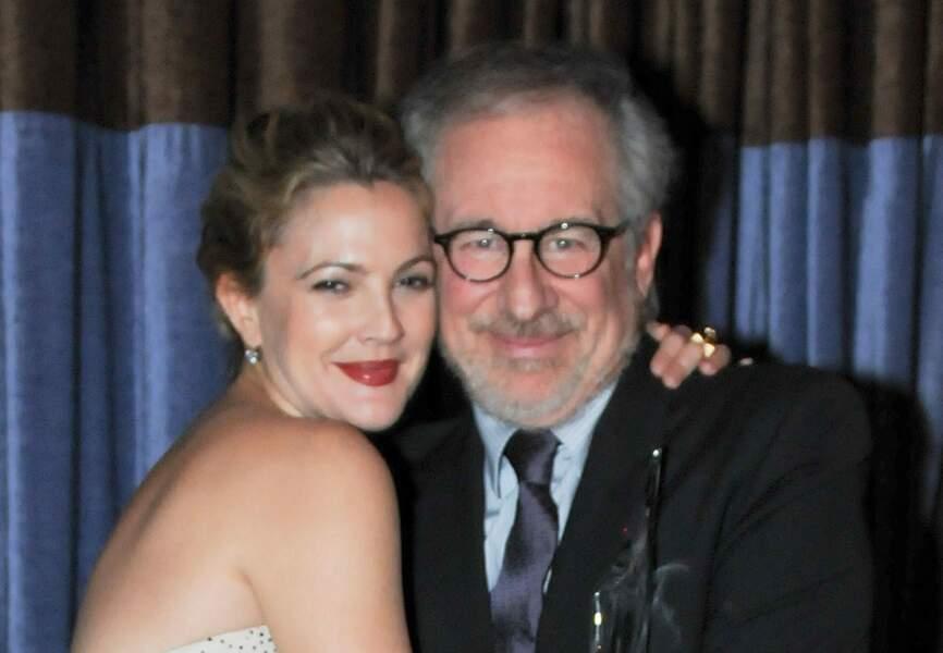 Steven Spielberg parrain de Drew Barrymore