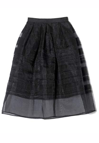Réédition du jupon de Grace Kelly en organza, Repetto, 290€