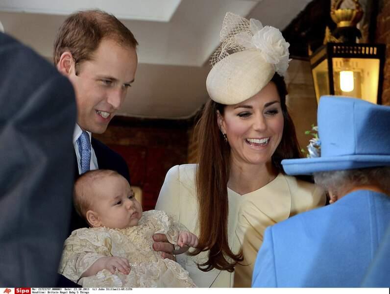 Pour la naissance de son arrière petit-fils, le prince George
