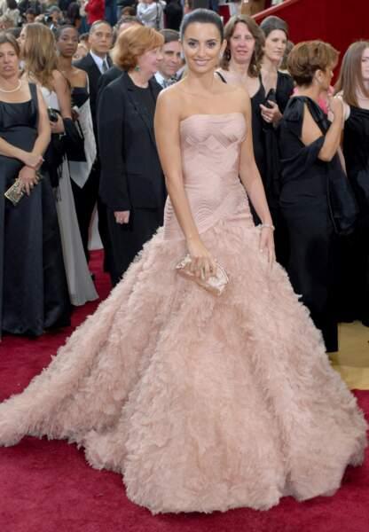 Penelope Cruz en Versace aux Oscars