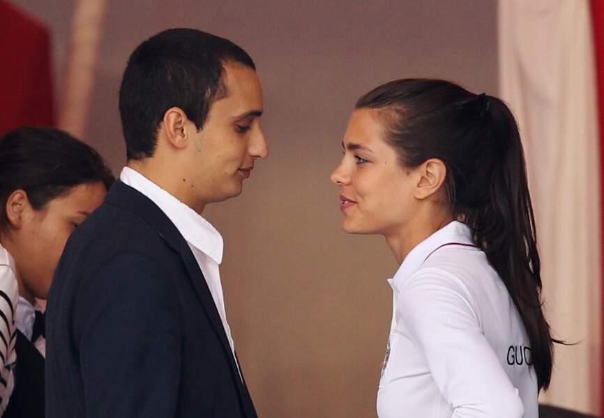 25 juin 2010 - Depuis 2007, Charlotte est amoureuse d'Alexander Dellal