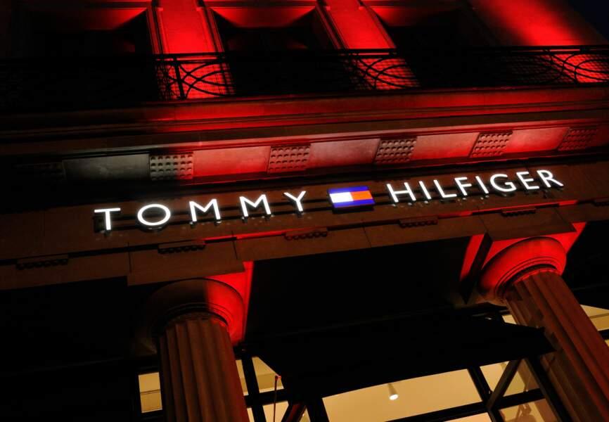 la boutique Tommy Hilfiger