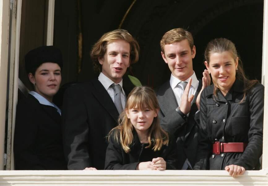 En 2009, Charlotte et sa famille lors de la fête nationale