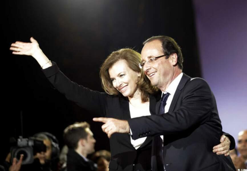 Les premières joies du couple présidentiel