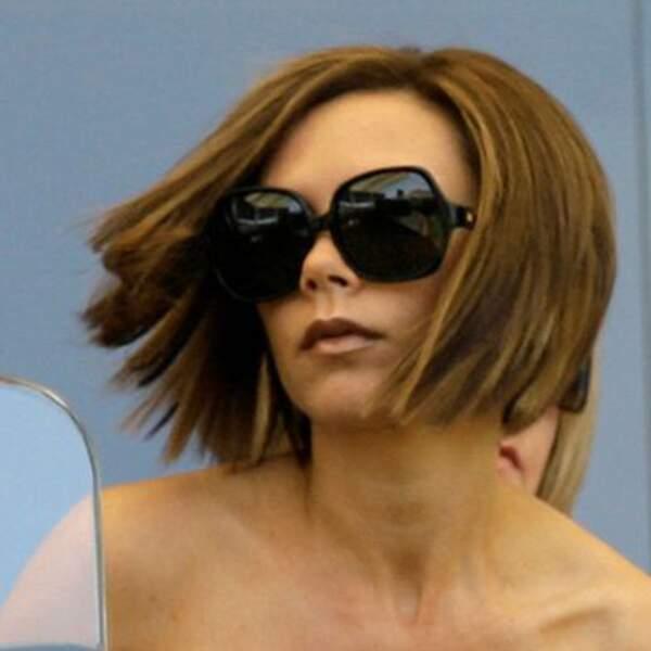 Victoria Beckham : changement de style avec un carré au vent