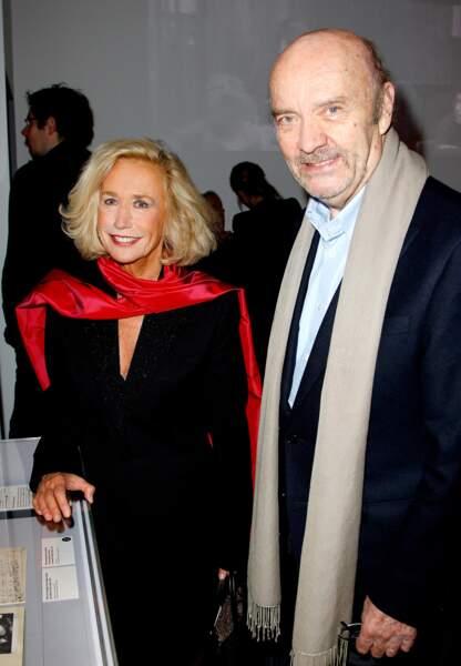 Brigitte Fossey et Jean-Paul Rappeneau