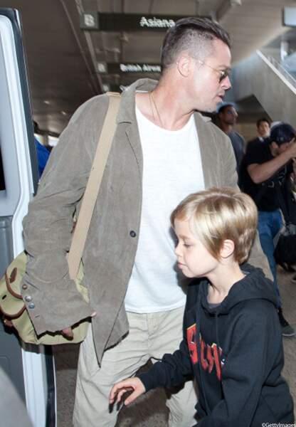Brad Pitt et Shiloh