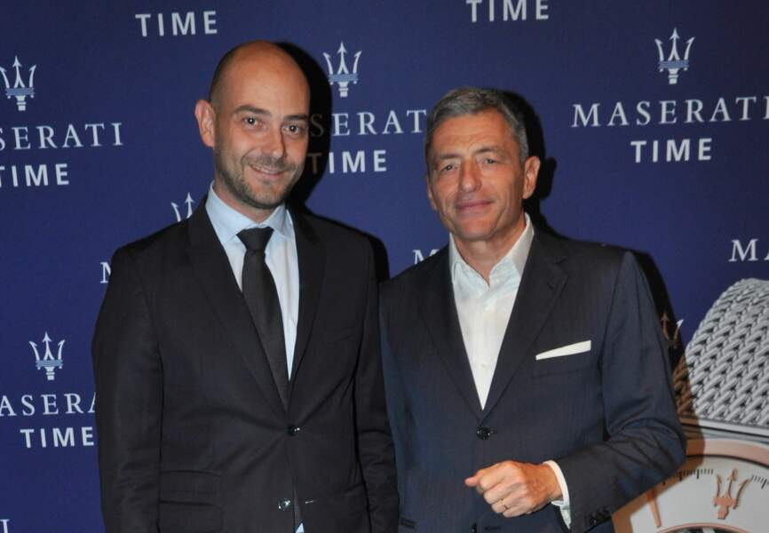 Massimo Carraro (CEO du Groupe Morellato) et Guido Giovannelli (Directeur Général de Maserati West Europe)