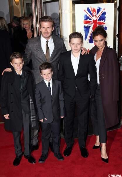 L'image d'une famille unie dans le style