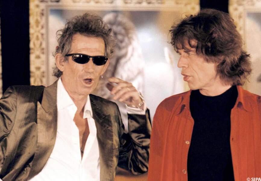 Mick Jagger et Keith Richards, toujours aussi fringants