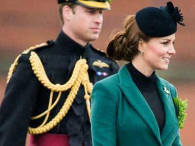 Kate Middleton assiste à la parade de la Saint Patrick à Aldershot