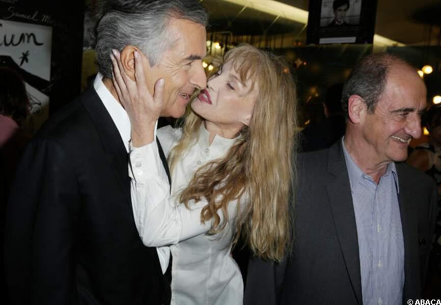 BHL et Arielle Dombasle, Pierre Lescure