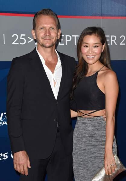 Sebastian Roché et sa femme Alicia Hannah