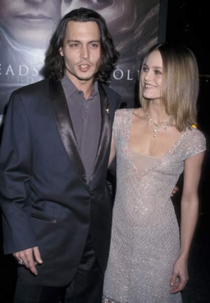 Avec Vanessa Paradis, le début d'une divine idylle, en 1999