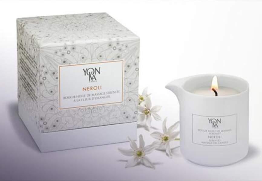 Yon-ka – Bougies de massage Néroli – 40€