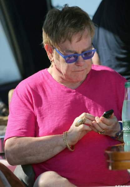 Hi-Tech... Elton John