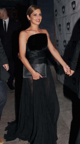 Cheryl Cole, sublime mariée en noire