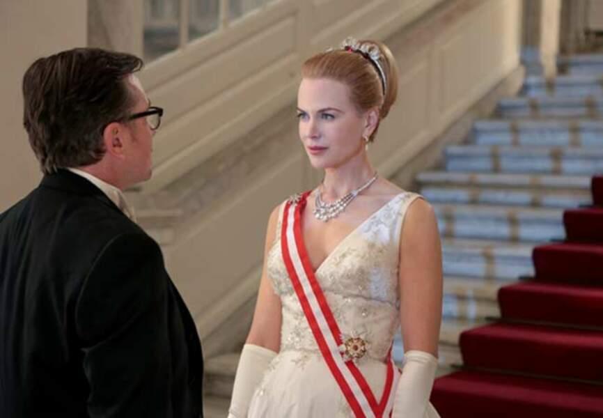Nicole Kidman en Grace Kelly (d'Olivier Dahan, sortie en 2013)