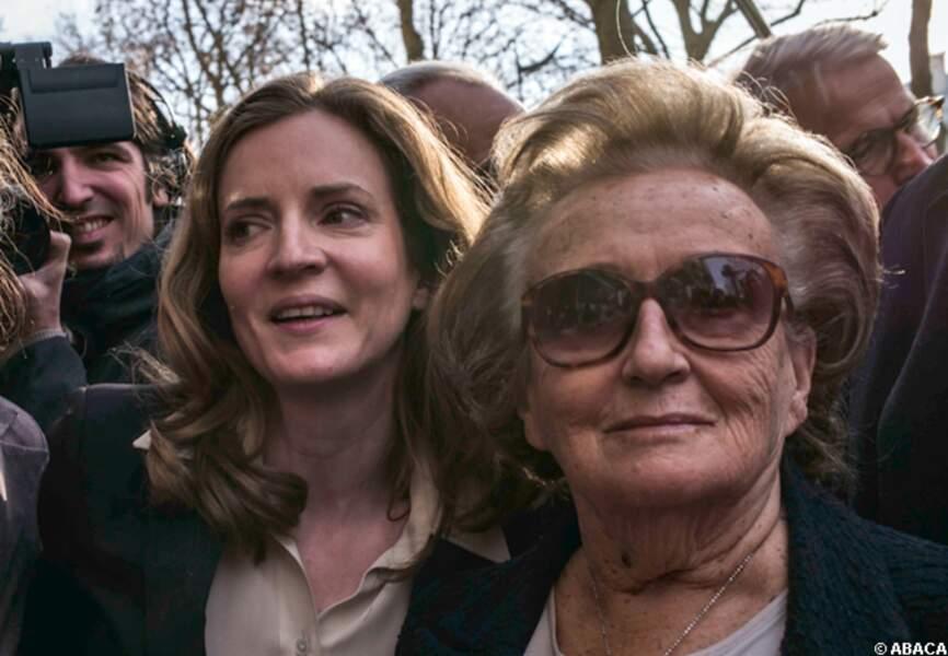 Bernadette Chirac et NKM mardi à Paris